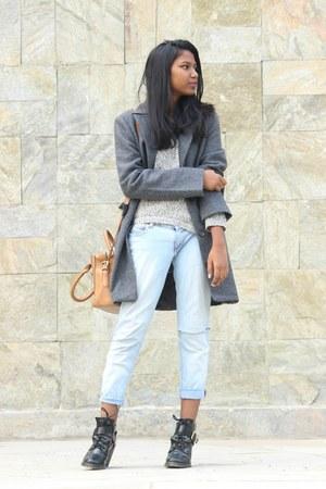 asos boots - Vero Moda sweater - Forever 21 bag