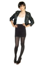 vintage from Ebay jacket - Topshop top - supre skirt - chapel st shoes