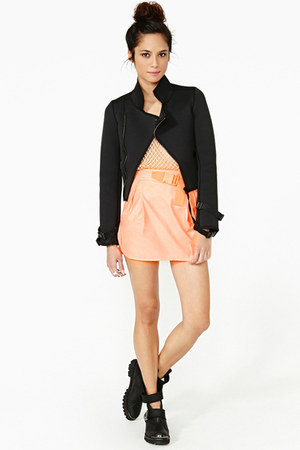 neoprene Nasty Gal jacket