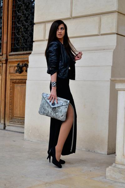 asos dress - Diesel bag - Musette heels