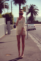 beige Zara dress