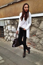 Local-store-boots-h-m-blazer-h-m-blouse-c-a-jumper