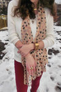 Light-pink-heart-print-ebay-scarf-maroon-bershka-jeans