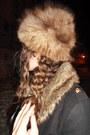 Black-ebay-coat-light-brown-vintage-hat