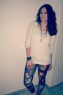 Black-ebay-ring-off-white-random-brand-sweater