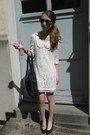 White-laces-mimph-dress-black-leather-bag-black-sunglasses-black-ring