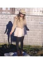 Zara blouse - H&M skirt - Zara heels