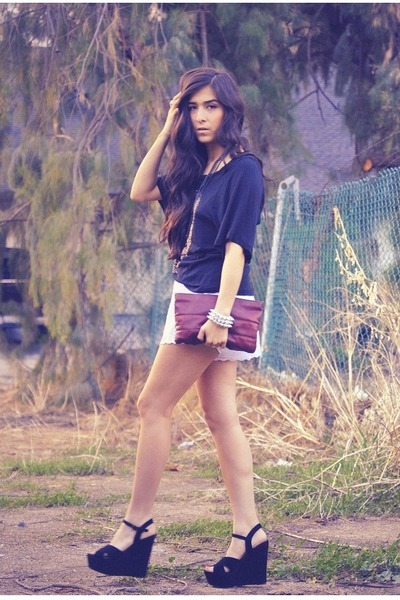 lace American Apparel shorts