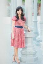 Prada dress - Tania Spinelli heels
