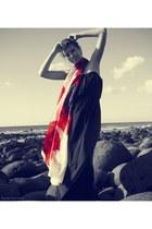silk red Fashion Shortlisted scarf