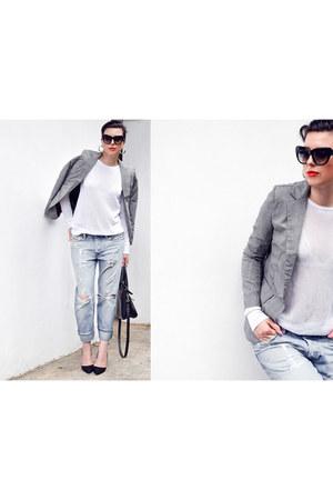 houndstooth StyleMoi blazer