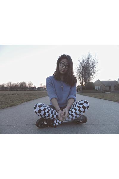 creepers shoes - H&M sweater - Primark leggings