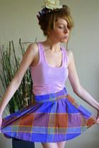 ballernia vintage skirt skirt - for sale etsy skirt - white flower Flower access