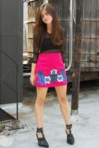 DIY skirt - Forever 21 bra - Forever 21 top