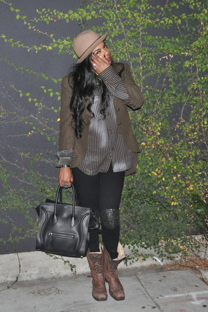 brown combat boots Frye boots - light brown Number A blazer