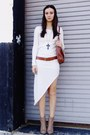 Burnt-orange-bag-tan-boots-off-white-dress-burnt-orange-belt