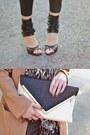 H-m-blazer-forever-21-bag-h-m-sunglasses-h-m-pants-heels