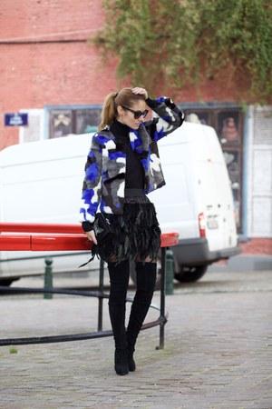 Poppy Lovers coat - Choies skirt