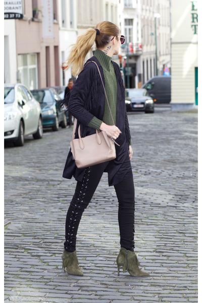 romwe jacket - Sacha shoes - romwe sweater