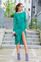 OASAP dress - trendsgal earrings
