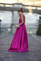 Chicwish dress - DressLink bag - Kitsch hair accessory
