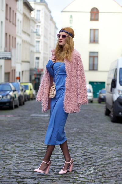 Choies dress - romwe coat