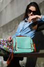Leather-mint-yeswalker-bag