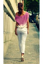 Ombre knit top