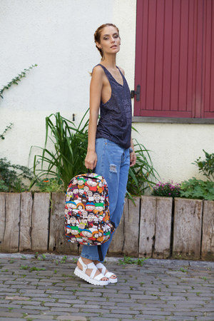 Tomtop bag - CNdirect jeans - MrGUGU& Miss GO top