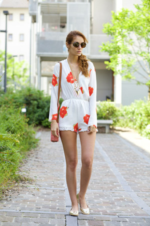 OASAP romper - Dressgal sunglasses