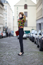 Mode app jacket - DressLink blouse - Cluse watch
