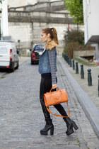 Lovelywholesale boots - Lovelywholesale jacket - DressLink leggings