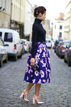 Chicwish skirt - Chicwish earrings