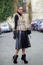 sammydress boots - PERSUNMALL bag - romwe skirt