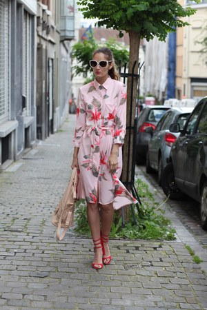 zaful dress - Alexa Wagner sandals