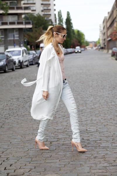 Lookbook Store coat - lightinthebox heels