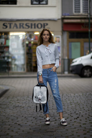 CNdirect jeans - OASAP top - JORD watch