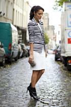 Daria Gora dress - Pretty Purple Boutique earrings