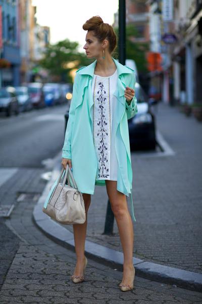Chicwish coat - Chicwish dress
