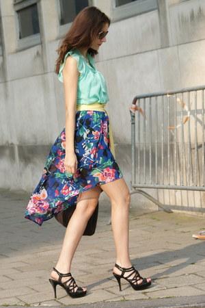 Forever 21 skirt - Only blouse