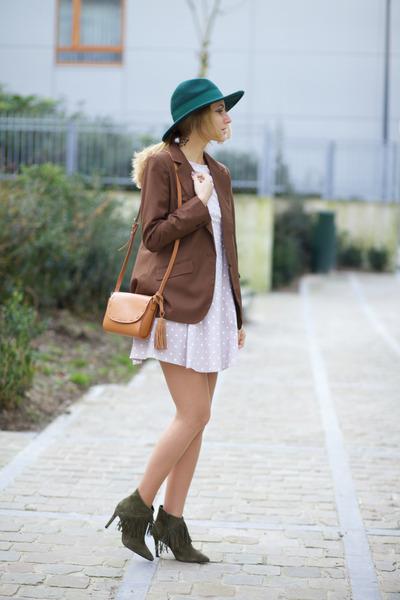 sacha shoes boots - Marie & Frisco dress - Marie& Frisco blazer