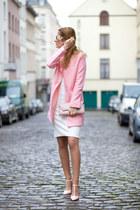 romwe coat - From Warsaw dress