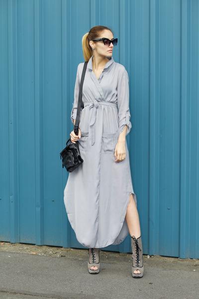 dresslily dress - Born Pretty Store sunglasses - Luna Pyxis earrings