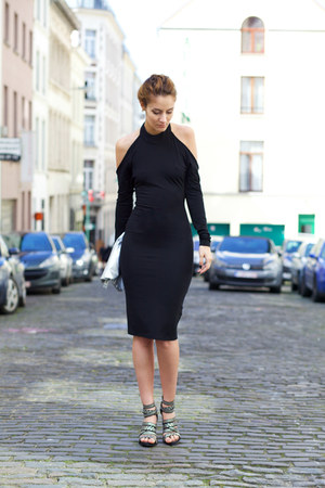 shein dress - Poppy Lovers bag