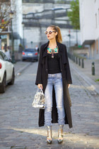 Lookbook Store coat - Jane Stone necklace