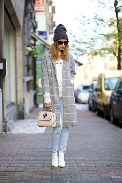 Chicwish coat - Relaxfeel bag