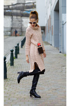 AllhqFashion boots - Poppy Lovers dress - Choies bag