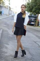 W Concept Korea blouse - W Concept Korea boots