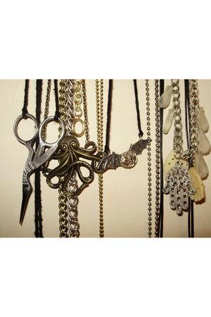 silver idk accessories