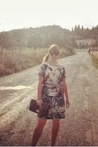 Primark belt - H&M dress - Nine West purse